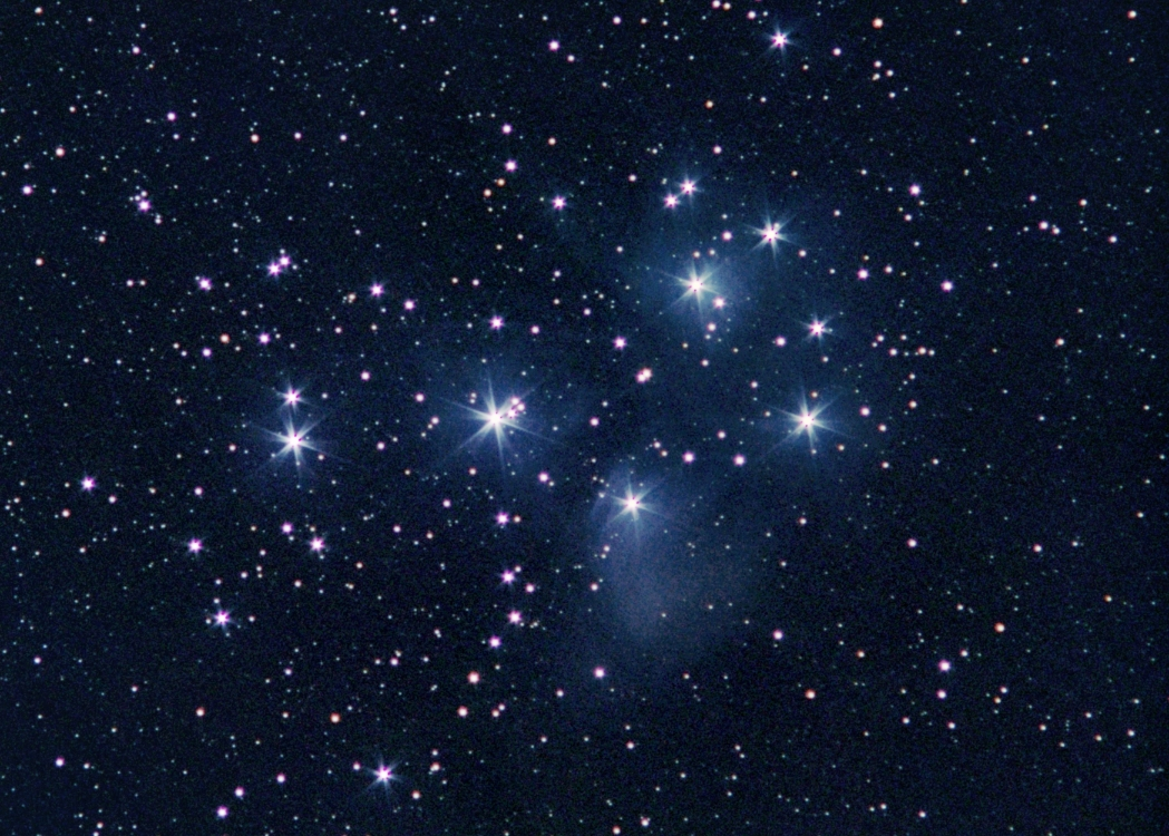 Pleiades and Orion Nebula - Pics about space