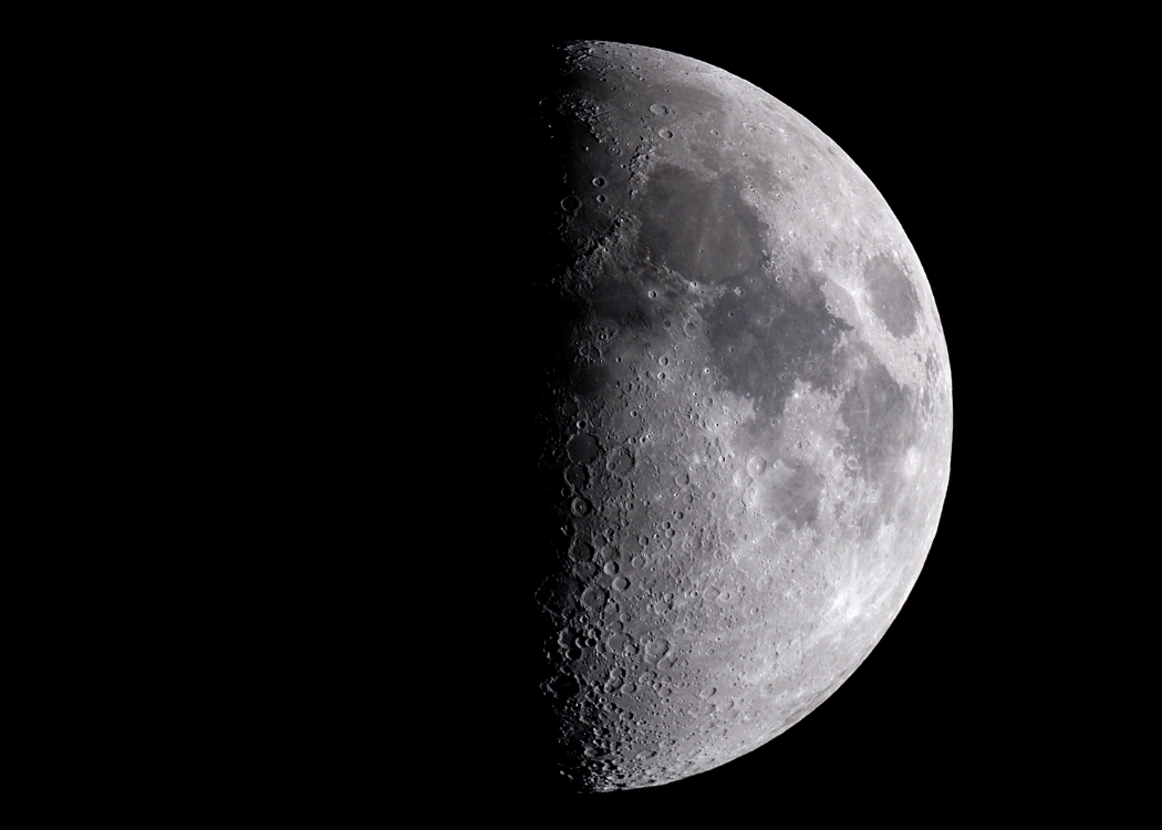 Fourth Quarter Moon cjb's Astro Images