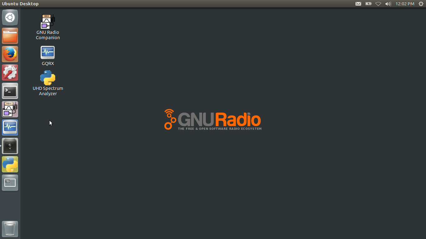 Using the GNU Radio Live SDR Environment DVD
