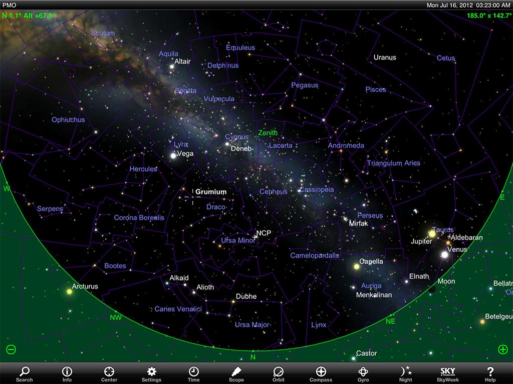 Pine mountain observatory pmo workshop 2012 sky charts