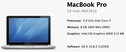 Apple MacBook Pro for Astronomy