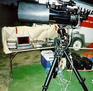 Cg 11 Setup At Table Mountain Star Party 1998