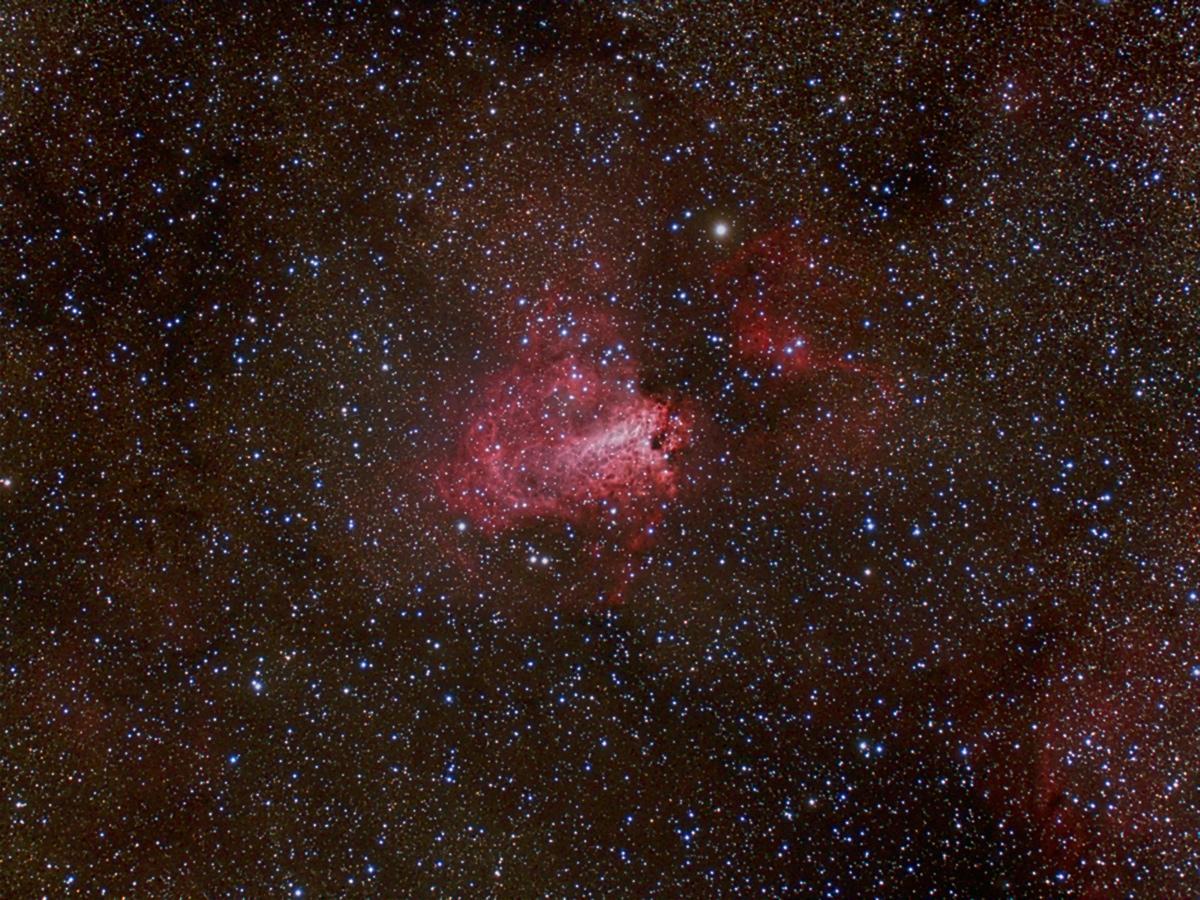 M Omega Nebula FLC Observatory