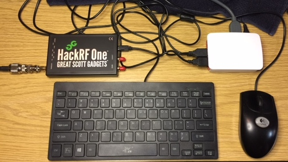 Project 5 6 HackRF One, Raspberry Pi 3 Model B and GNU Radio